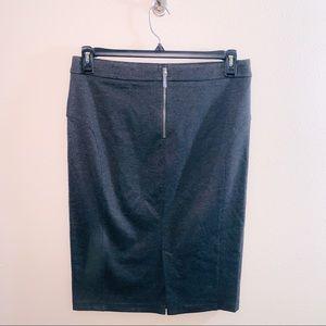 Michael Kors Gray Cotton Skirt